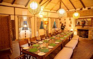 Dining Bwindi Lodge