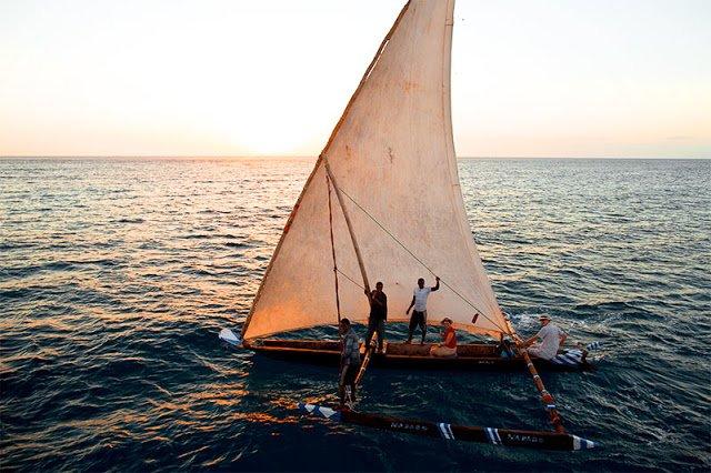Manta Resort Ngalawa Dhow Indian Ocean Pemba