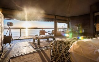 Lake Nakuru luxury accommodation tent The Cliff Kenya