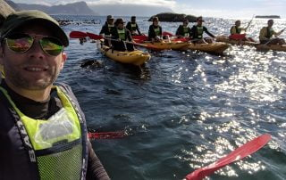 Kayaking on the Cape Peninsula with New Frontiers Escapes