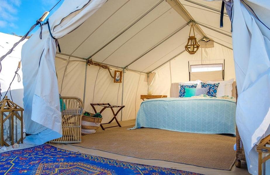 Camp Cecil Espiritu Santo Todos Santos Eco Adventures