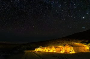 Camp Cecil Milky Way Glamping Starry Night Todos Santos Eco Adventures