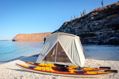 Camp Colossus Tent Kayak Tour Glamping Baja