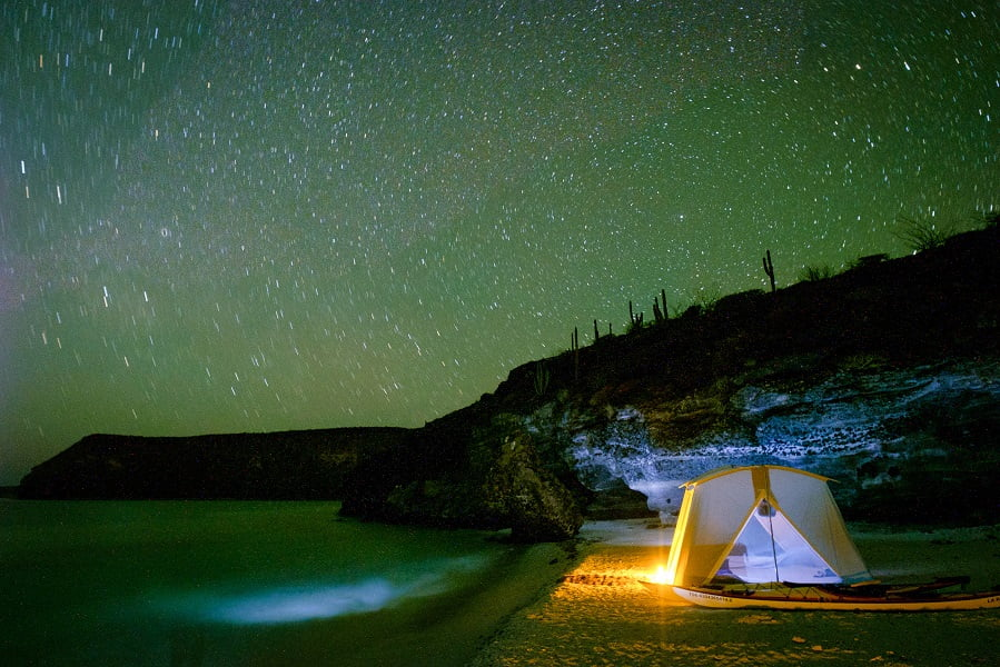 Camp Colossus Milky Way Nature Baja Glamping