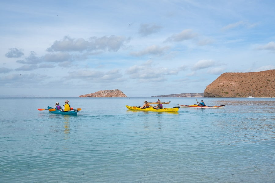 Camp Cecil Glamping Kayak Sea of Cortez