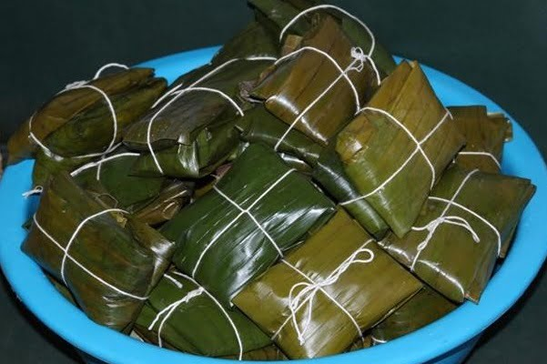 Holiday tamales recipe Costa Rica