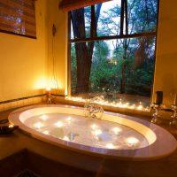 Camelthorn villa bubble bath luxury