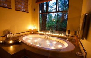 Camelthorn villa bubble bath luxury