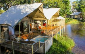 Zambezi Sands luxury tent exterior