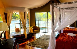 Zambezi Sands luxury tent interior