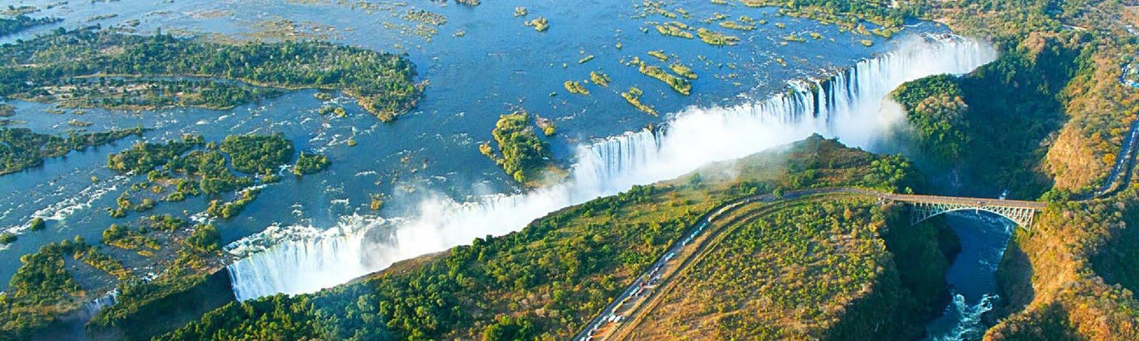 Victoria Falls helicopter zimbabwe