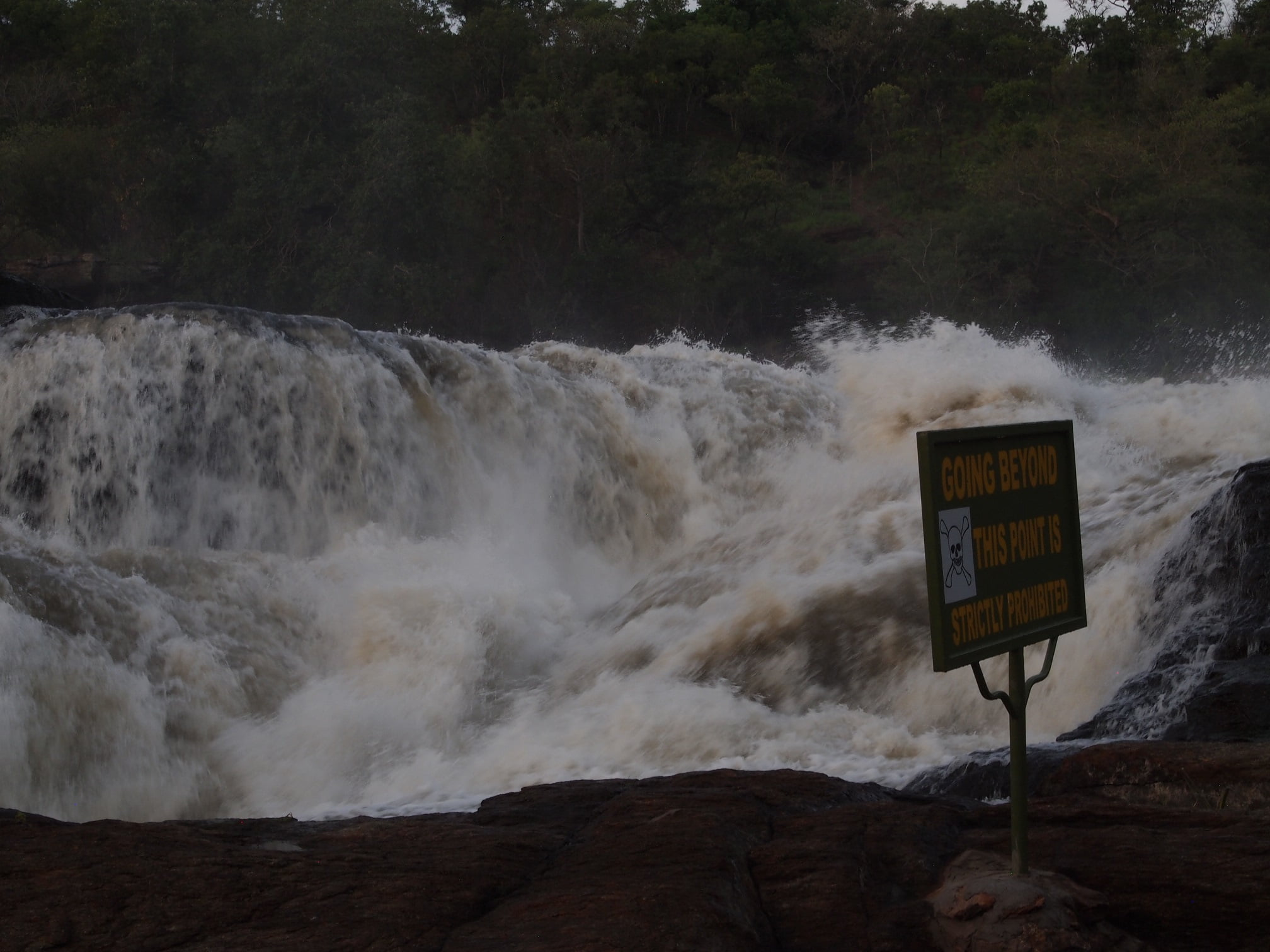 Classic Africa Safaris the Nile atop Murchison Falls Uganda Gretchen Healey