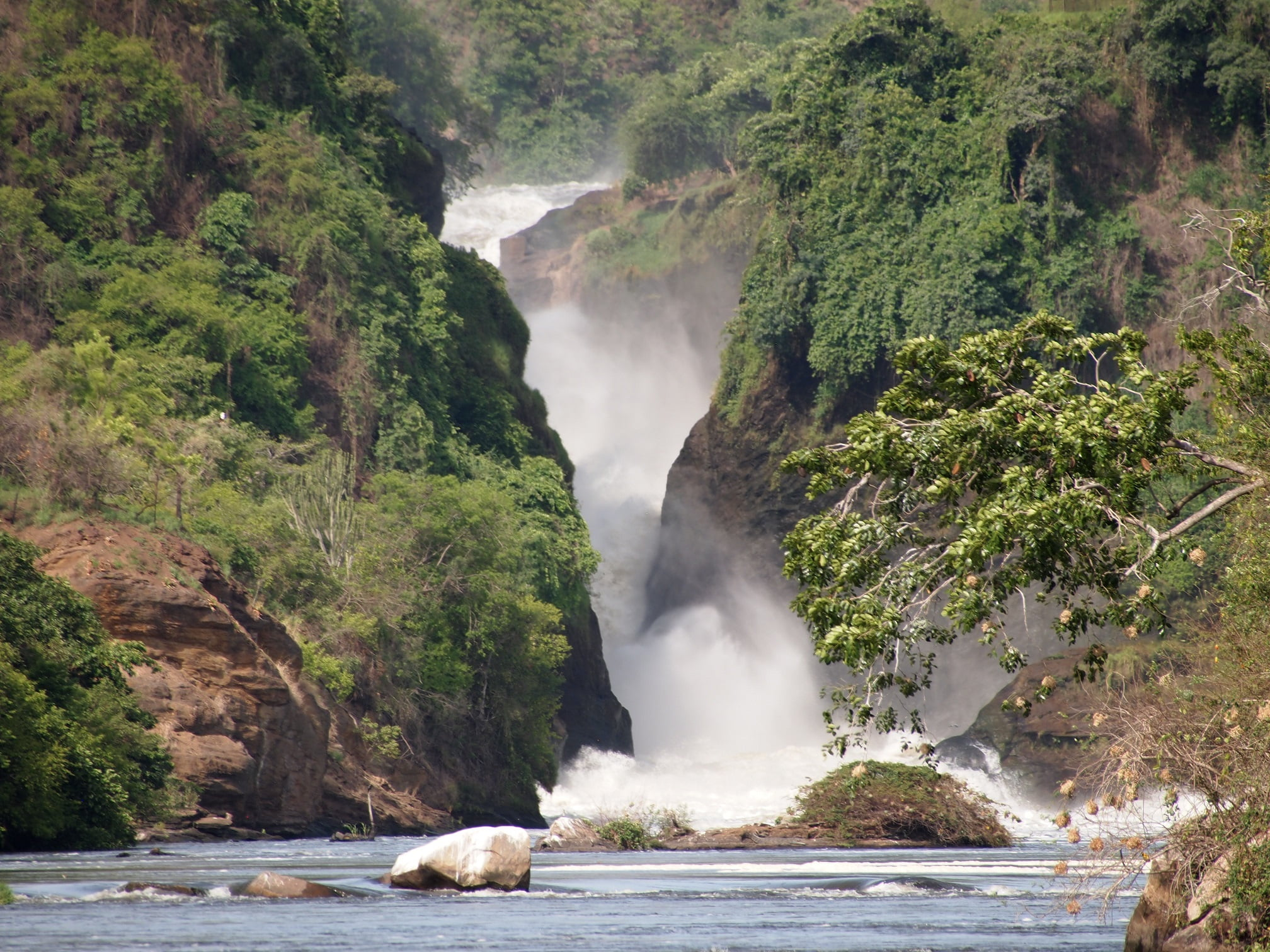 Classic Africa Safaris Murchison Falls by boat Uganda Gretchen Healey