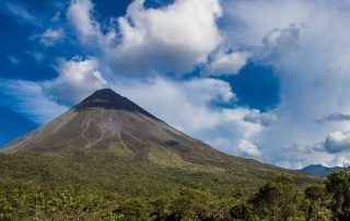 Arenal volcano with Costa Rica Sun Tours