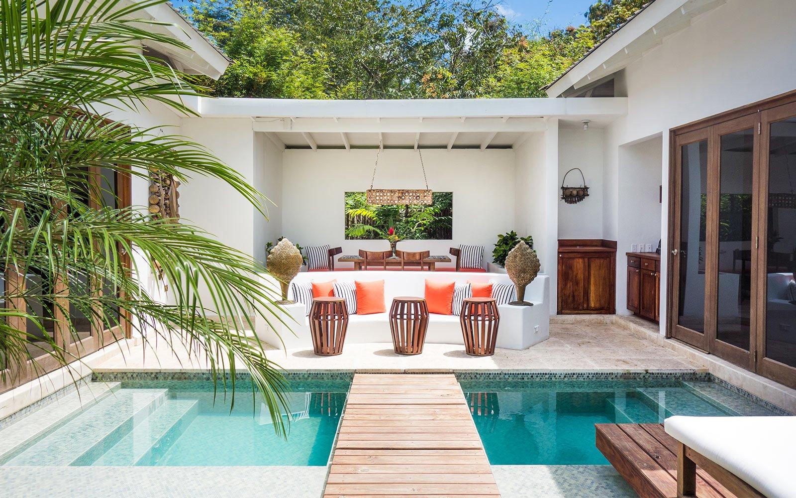 Maya Trails_Ka'ana Resort Belize suite pool