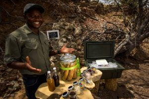 Ultimate Safaris_Trail Treats ice cream surprise in //Huab Conservancy