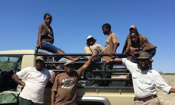 Save the Rhino Trust Rhino Rangers Ultimate Safaris Namibia