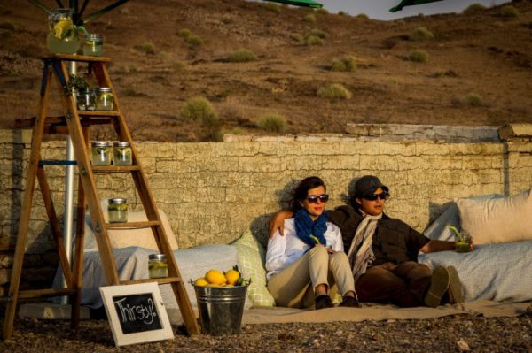 Enjoying Trail Treats on Ultimate Safaris' Namibia Under Canvas Safari