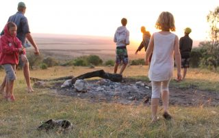 Kids exploring at House in the Wild Albatros East Africa