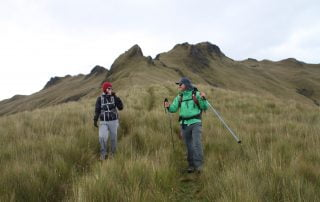 Trekking in the Andes with Tropic Ecuador
