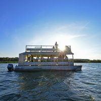 Alligator 16 pax boat at Murchison Falls NP