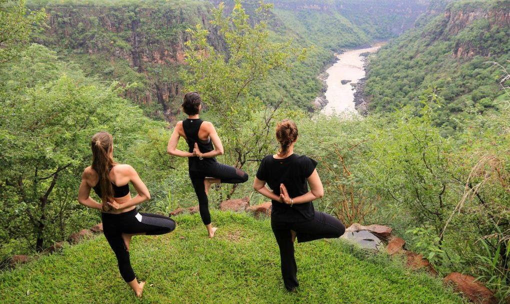 Yoga at Imvelo Safari Lodges' Gorges Lodge